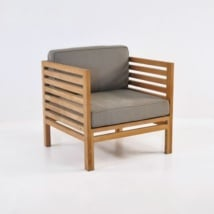 Spa Teak Outdoor Club Chair-0