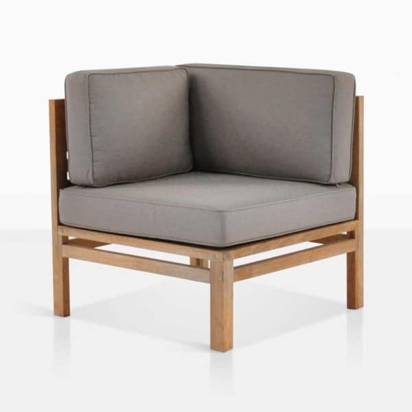 Spa Teak Sectional Corner Chair