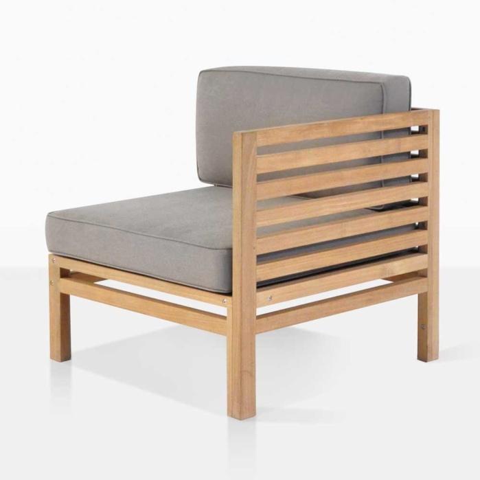 Spa Teak Left Arm Chair