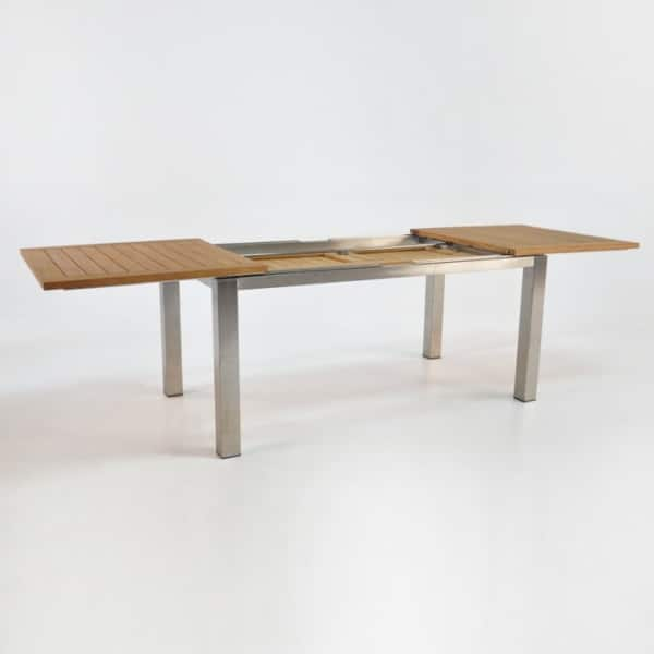 64in stainless steel extension table