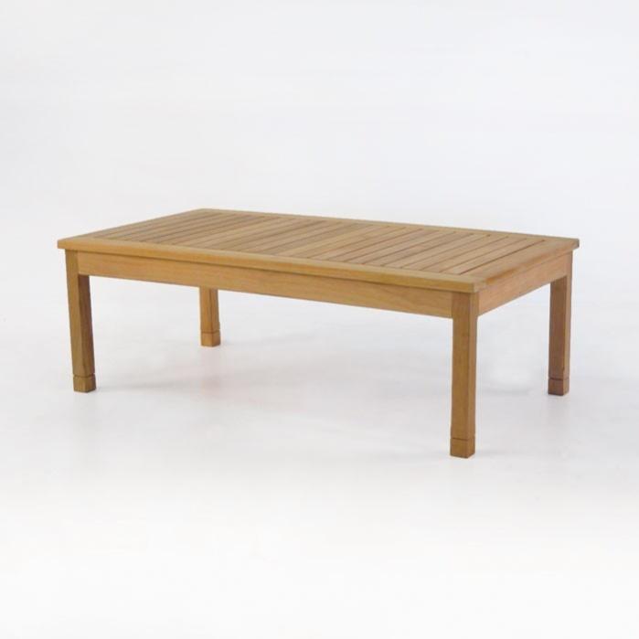 st. tropez rectangle teak coffee table | teak warehouse