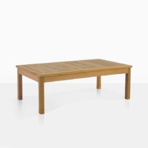 St. Tropez Rectangle Teak Coffee Table
