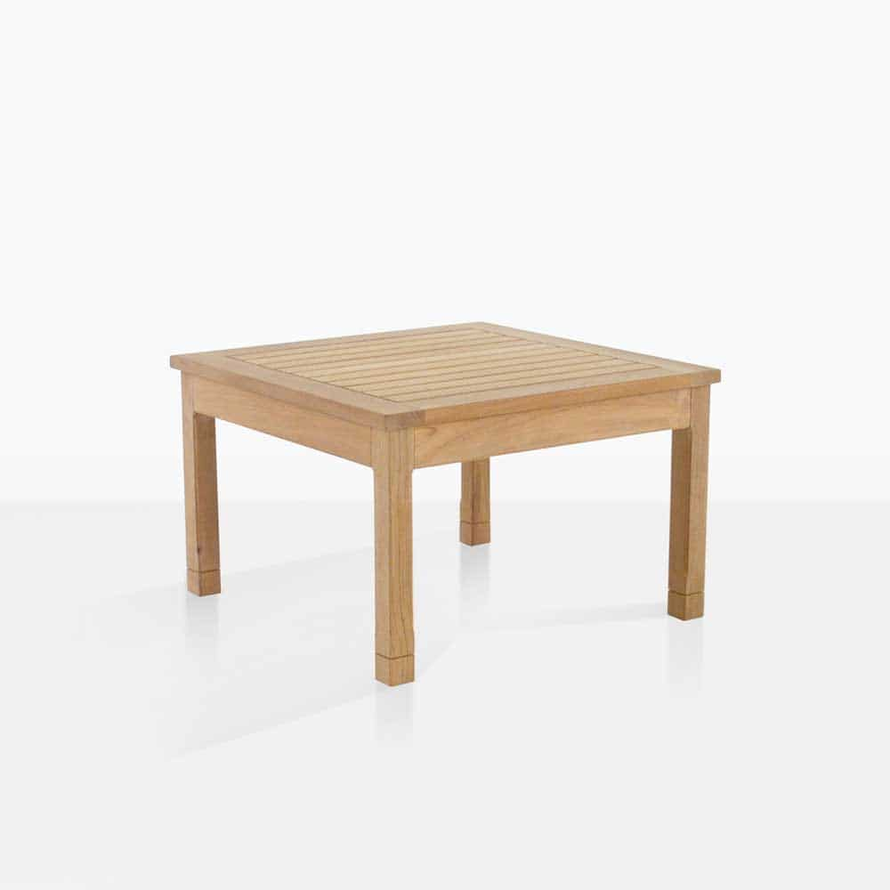 Miraculous St Tropez Teak Side Table Gmtry Best Dining Table And Chair Ideas Images Gmtryco