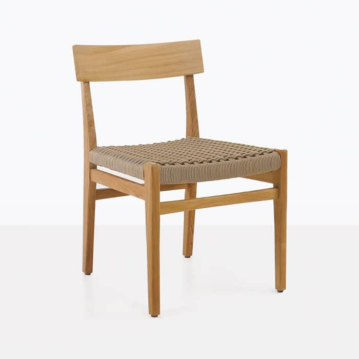 Teak Chair outdoor dining chairs for decks or patios | teak warehouse