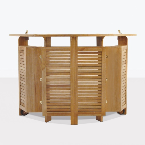 Toscana Teak Outdoor Bar And Storage Unite