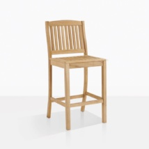 Verona Teak Side Bar Chair