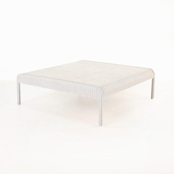Zambezi Outdoor Wicker Coffee Table (Chalk)-0