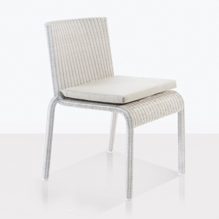 zambezi dining chair chalk white angle