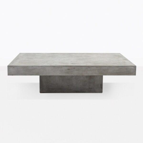 Blok Concrete Rectangular Outdoor Coffee Table