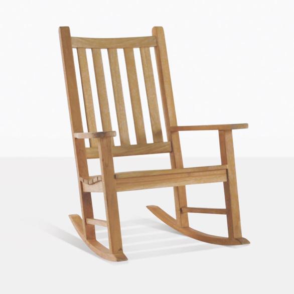 Granny Teak Rocking Chair