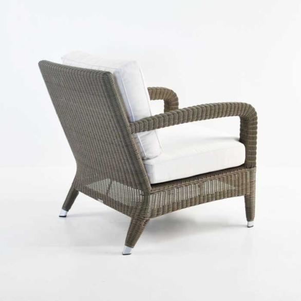 aaron outdoor wicker chair kubu back angle view