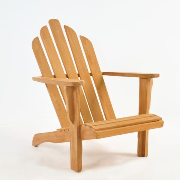 adirondack chair front angle view
