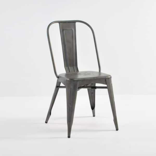 alix aluminum dining chair