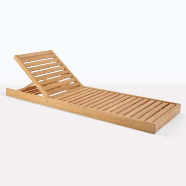 Amalfi Teak Low Lounger
