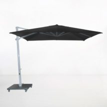 Antigua 10ft Cantilever Umbrella (Black)-0