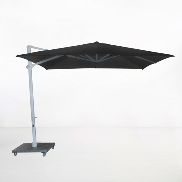 Antigua 10ft Cantilever Umbrella (Black)-0