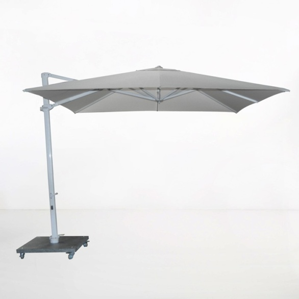 Antigua 10ft Cantilever Umbrella (Grey)-0
