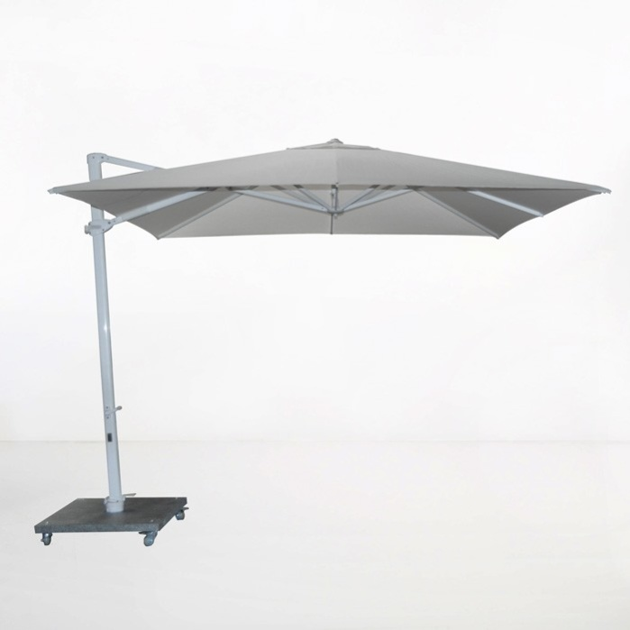 Antigua 10ft Cantilever Umbrella (Grey)-0