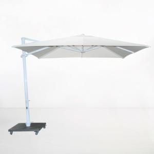 Antigua 10ft Cantilever Umbrella (White)-4906