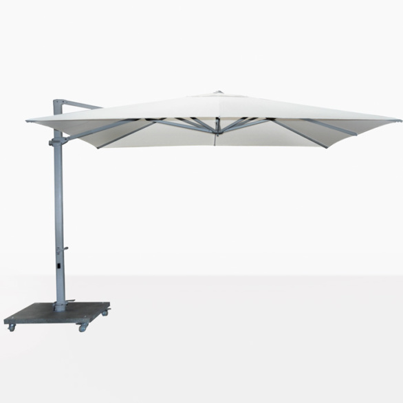 Antigua Cantilever Umbrella White