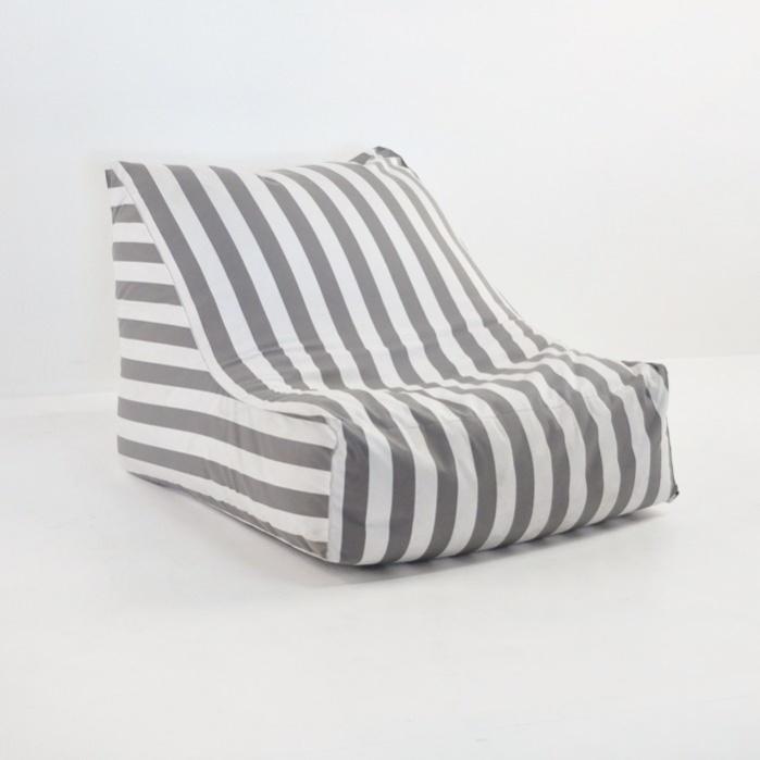 Bean Bag Chair - Grey-0