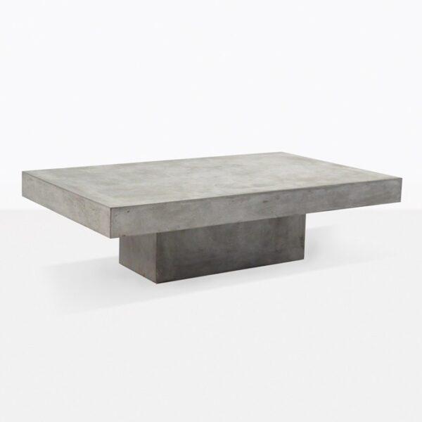 Blok Concrete Rectangle Coffee Table