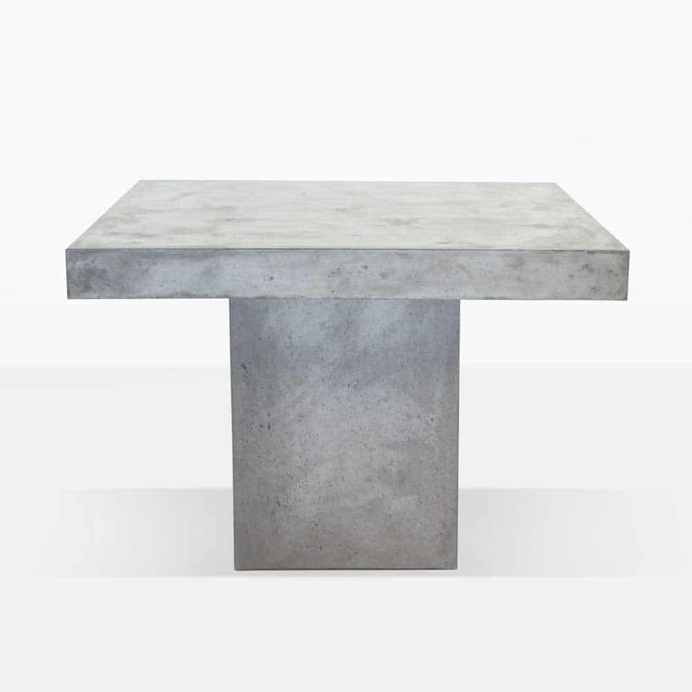 Blok Square Concrete Table Dining Tables Teak Warehouse