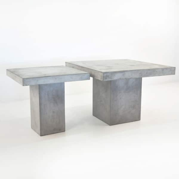 blok square concrete tables