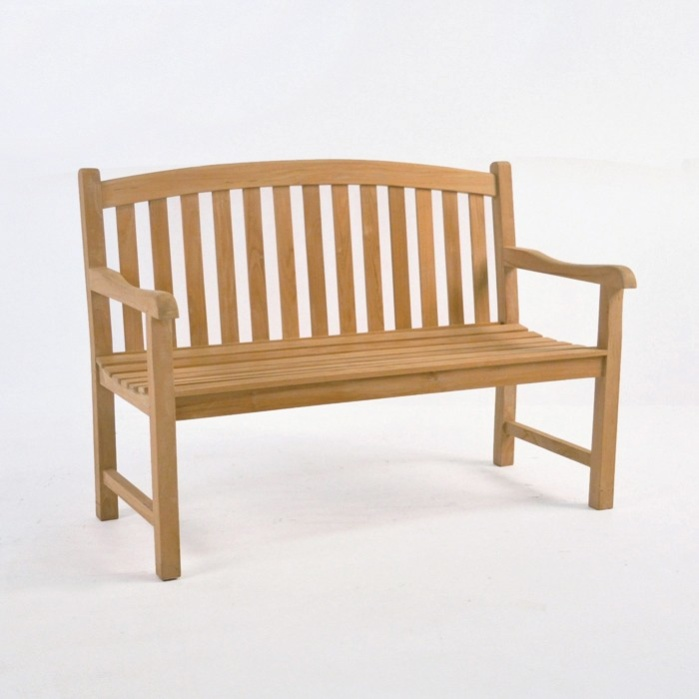 weave jakie basket teak outdoor ft bench