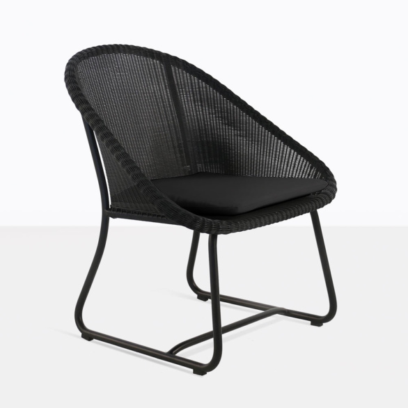 Breeze Wicker Black Relaxing Chairs