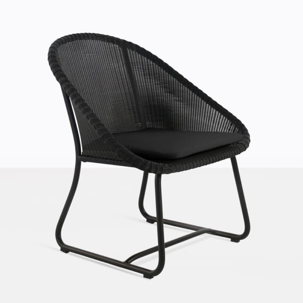 Breeze Wicker Black Relaxing Chairs