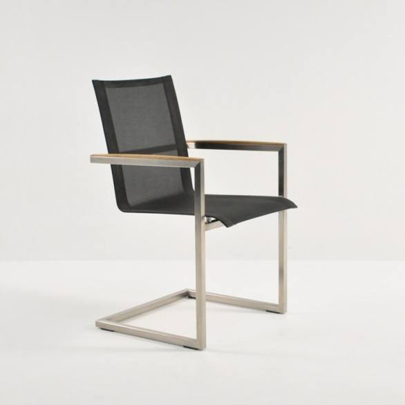 bruno dining chair black