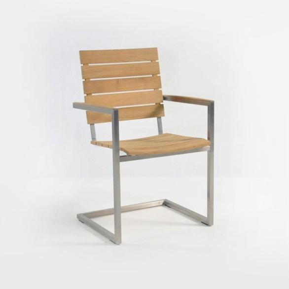 bruno teak dining chair