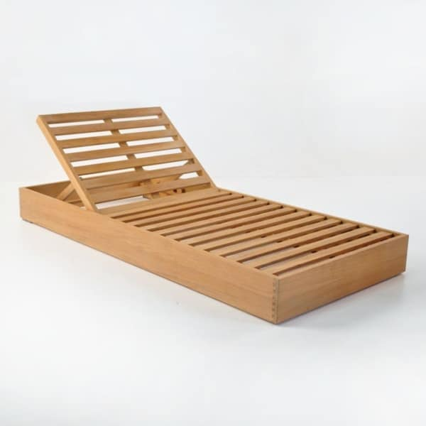 Deck Furniture - kuba teak sunbed