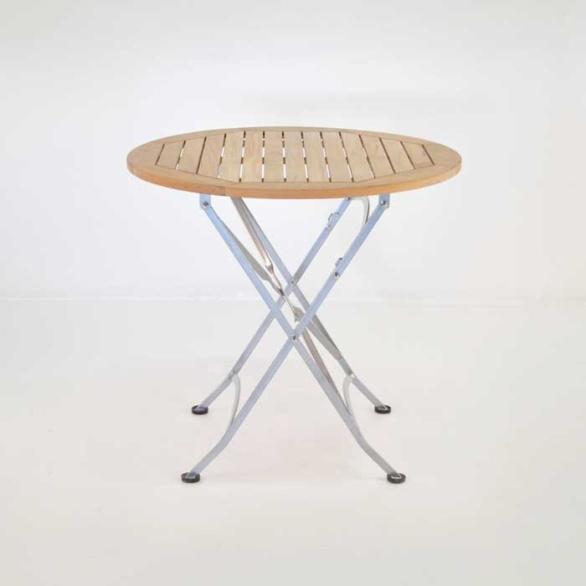 cafe round folding table