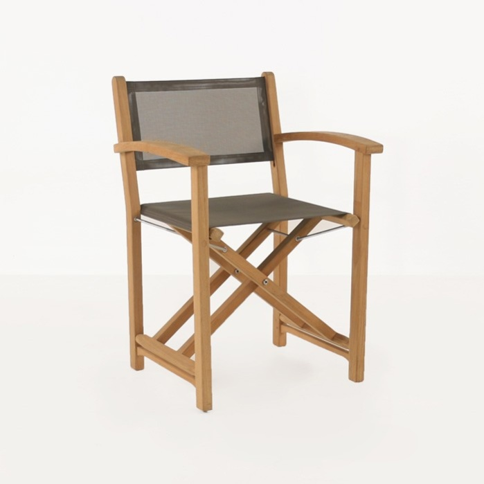 Teak Chair cannes teak directors chair | outdoor restaurant dining | teak
