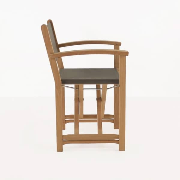 teak directors dining chair