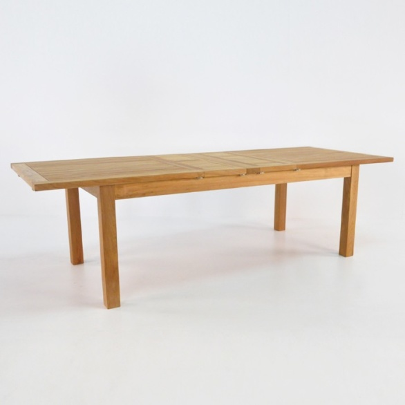 capri outdoor extension table 74in