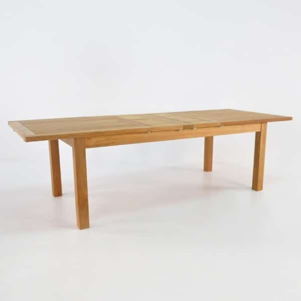 capri double extension rectangle table 78in
