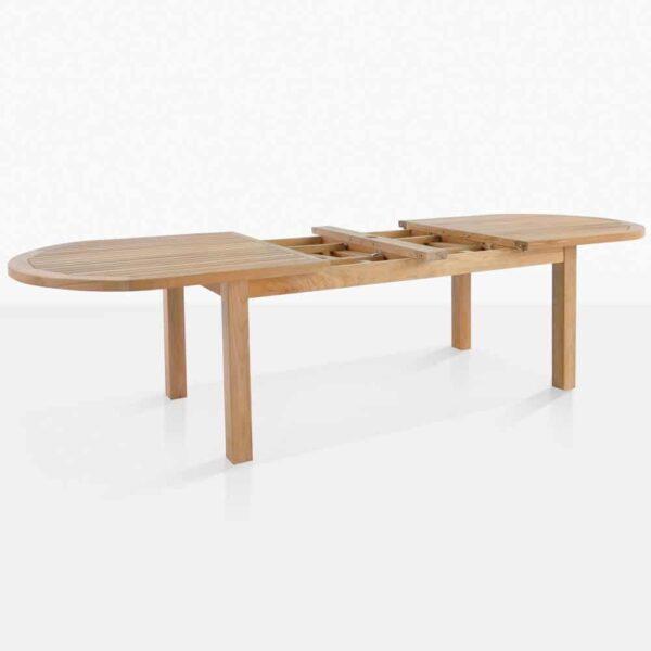 Capri Teak Dining Extension Table