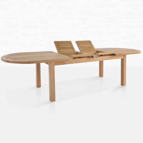 Cpari Teak Dining Table With Extension Boards