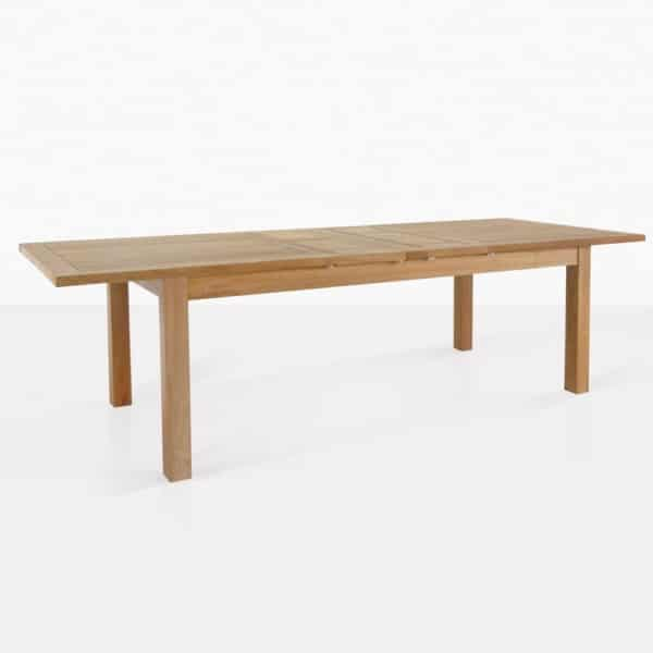 Capri Teak Double Extension Dining Table