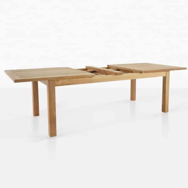 Capri Teak Rectangle Extension Table