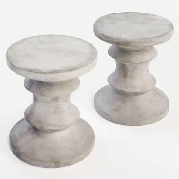 blok chess stool pair