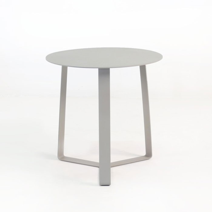 Attractive Chicago Aluminum End Table 0