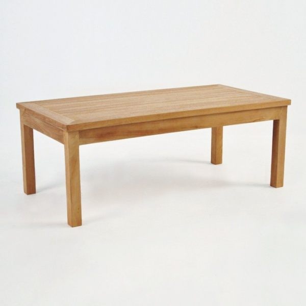 Classic Rectangle Teak Coffee Table-0