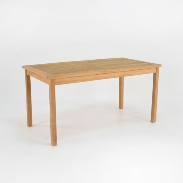 fixed teak table