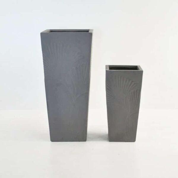 Ginko Raw Concrete Planter-0