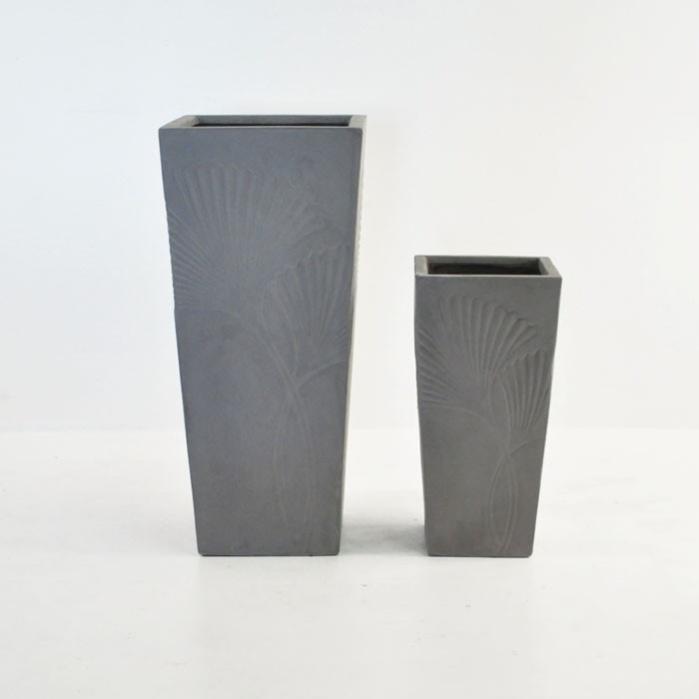 Ginko Raw Concrete Planter Outdoor