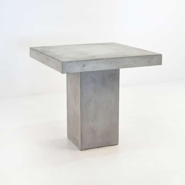 blok concrete outdoor dining table